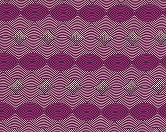 Joel Dewberry Fabric by the Yard - Bungalow - Cloud Cover in Lavender - Quilter's Cotton