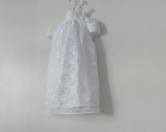 Girls Dress. Lace Dress. White Dress. Summer Dress. Girls Summer Dress. Girls Lace summer dress. Wedding dress. Formal Dress. Christening