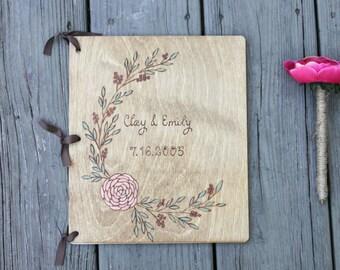 Wedding Guest Book, Wedding Guestbook, Rustic Guest Book, Rustic Guestbook, wooden guestbook, custom guestbook