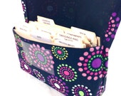 Coupon Organizer, Coupon Holder, Ready to Ship, Money Management, Budget Wallet, Coupon Purse, Dots in Circles