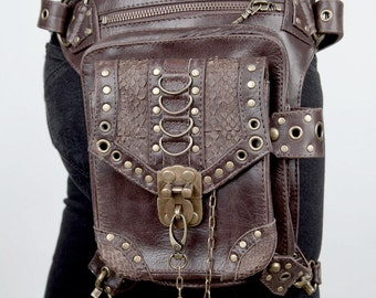 Blaster 3.0 Brown Leather Hip and Holster Bag