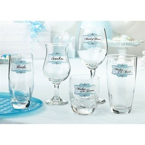 20 glass clings for wedding bridal shower party for Wedding craft supplies