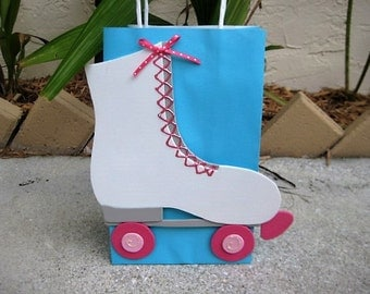 Roller Skate Birthday Party Favor Bag