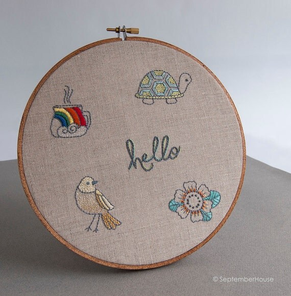 Hand embroidery patterns quick stitch