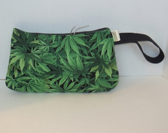 Cannabis Clutch - Coraline Clutch - Pot leaf - Mary jane Clutch - MMJ