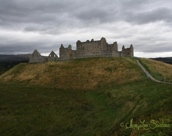 Scotland photography, Ruthven Barracks in the Highlands perfect for any decor
