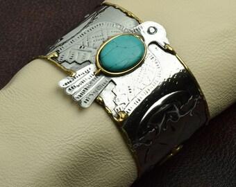 Southwestern Style Cuff Bracelet , J851/TT