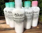 Shea Butter & Aloe Lotion Sample -  CHILDREN inspired scents (your choice)