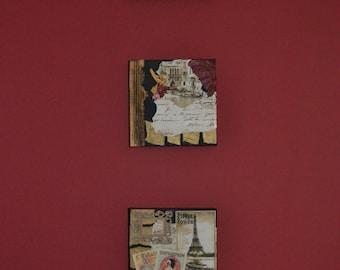 Paris/Venice Collage Set