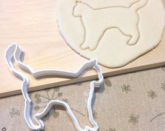 Cat Cookie Cutter - Fondant Icing Cake Cupcake Topper Iced Sugar Cookies Mold Biscuits Mould Animal Pet Theme Kitty Kitten Birthday Party