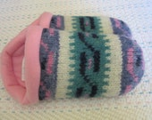 Patterned Sweater Slippers - Ladies Large 9/10