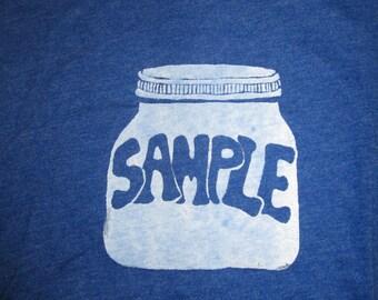 sample in a jar
