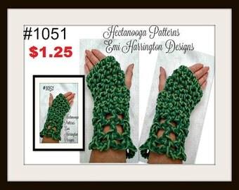 CROCHET PATTERN - fingerless gloves, easy beginner pattern, Adult small, Adult large, fingerless gloves crochet pattern, teens, women #1051