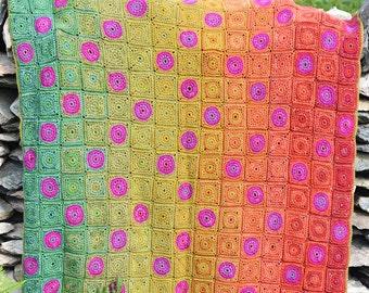 Countisbury Hill Crochet Afghan/Blanket  - PDF CROCHET PATTERN