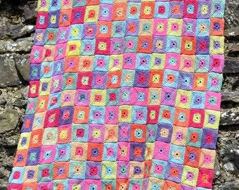 Kiki Crochet Blanket - PDF Crochet Pattern