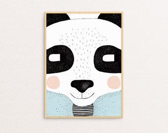 Big Panda 30 x 40cm Print