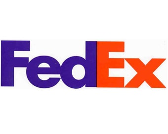 SHIPPING UPGRADE - FedEx - 3-4 Shipping