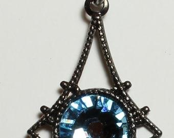 Aquamarine Swarovski crystal