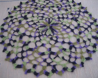 New, hand made, crochet doily, ready to ship