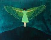 Wings - Fine Art Print of Original Painting