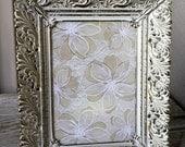 Vintage Ornate Gold Filigree Picture Frame 5x7