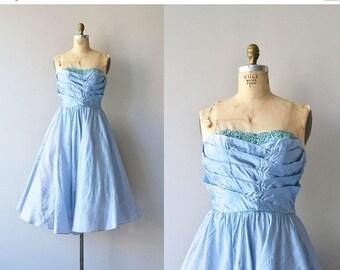 25% OFF.... Pavilion en Air dress | vintage 50s dress • silk 1950s dress