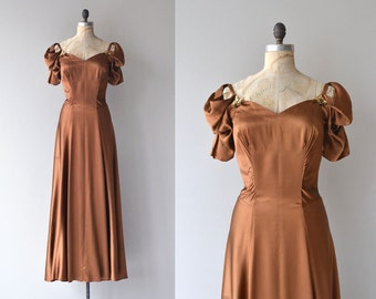 Vezzosa dress | vintage 1930s dress | silk 30s dress