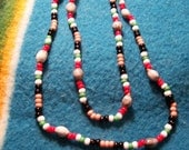 Cherokee Tears Necklace-Iraqi Medal colors