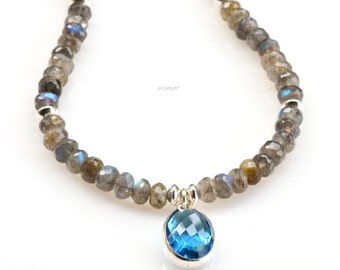 London Blue Labradorite Necklace