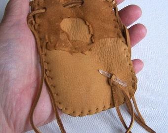 Leather Medicine Bag...DUSK