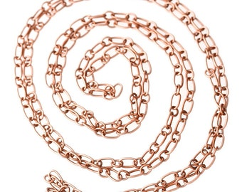 BULK - Antique Copper Chain - 32 feet - #CH31874