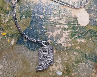 The Arlene Necklace - Small Indiana Charm Necklace