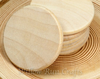"300  Pack 1 1/2"" Wood Circle Disc (23-20-170)"