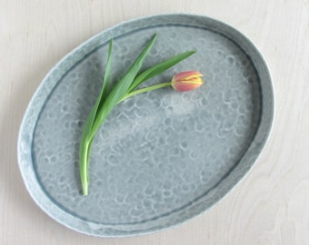 Oval Pinched Serving Platter - Made to Order