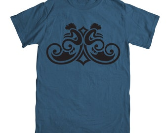 Monkey T-shirt - Denim Blue - Year of the Monkey T-shirt