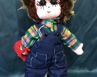 Small Soft-Sculptured Boy Doll