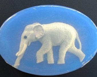 Elephant Soap in Blue, Pink, Lavender, Black, Red