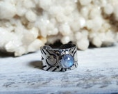 RESERVED Sterling Silver Adjustable Midi Ring and deposit for cuff and ring