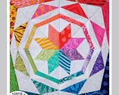 Simple Celestial #229 - 9 inch - Paper Pieced Quilt Pattern