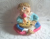 Nursery Rhyme Little Jack Horner Button Mother Goose