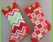 COUPON Code Sale - Moda Fabric, Joy, Christmas Stocking Panel, Kate Spain, 100% Cotton Quilt Fabric, Quilting Fabric, Christmas Fabric