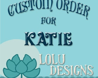 Custom Planner Order for Katie