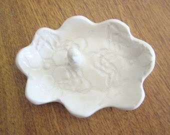 White cloud trinket tray,  Daughter gift, auntie gift, sister gift