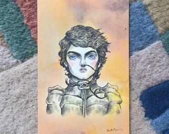 Sci-fi Boyfriend Spicy Paul - 4x6 print
