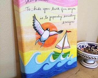 Canvas Print : Dear Dreamer