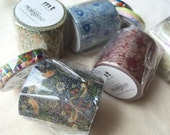 mt x William Morris Washi Masking Tape - Strawberry Thief - 2016 Summer