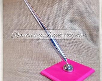 Custom Colors Wedding Pen...shown in hot pink