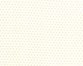 FALL SALE - 1 yards - Vintage Picnic -  Dot in Cream Gray (55128-17) - Bonnie and Camille for Moda Fabrics