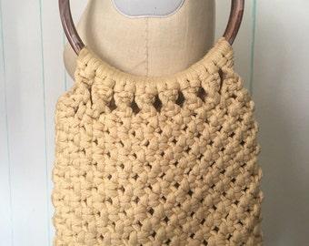 White Crochet Handmade Purse