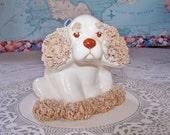 Dod figurine, Spaghetti Dog figurine, Ceramic dog figure, Collectible Dog, Collectible figurine